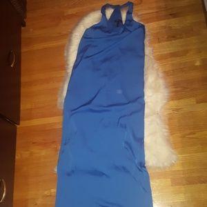 Bcbg sara racerback maxi tank dress